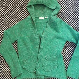 Anthropologie Mitten Sweater Hoodie